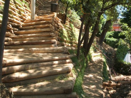 Maccaferri aldo ingegneria naturalistica - Scale per giardini ...